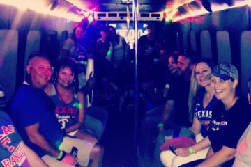 Corporate Event In A Party Bus